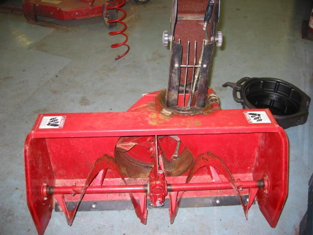 "Used 42"" Snowblower #6 for Honda RT5000, H5013, or H5518 Tractor"