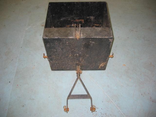Used Rear Weight Box for Honda RT5000, H5013, or H5518 Tractor