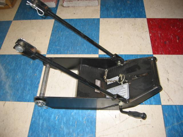 New Front Quick Hitch for Honda RT5000, H5013, or H5518 Tractor – Formula H Motorworks, Inc.