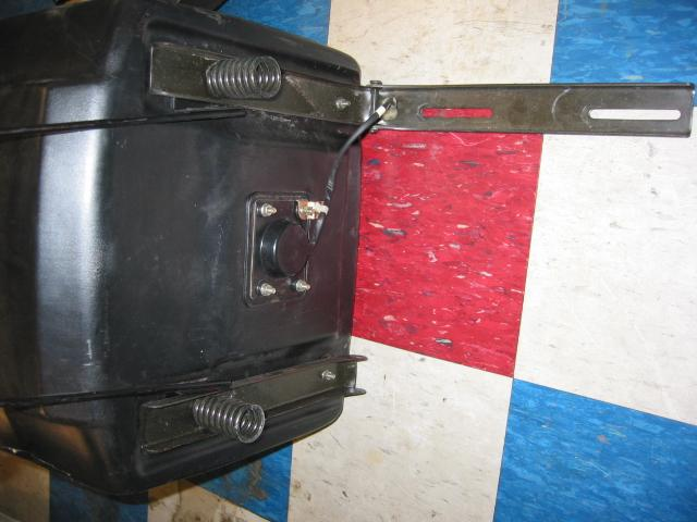 Used Seat for Honda RT5000, H5013, or H5518 Tractor