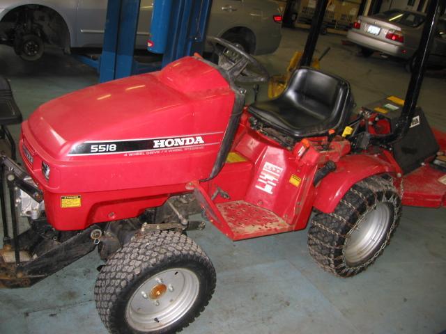Honda H5518A4 Tractor 12