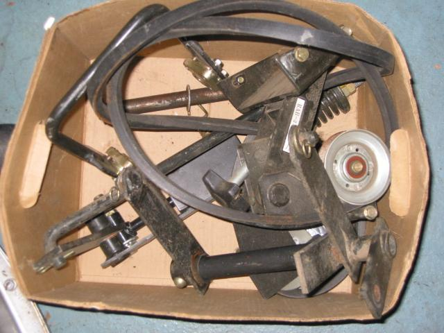 """Used 46"""" Mower Deck for Honda H5518 Tractor"""