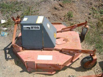"<span class=""dojodigital_toggle_title"">Used 42″ Brush Hog / Rough Cut Mower for Honda RT5000, H5013, or H5518 Tractor</span>"