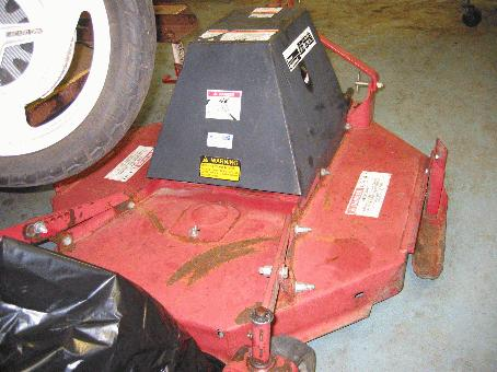 "Used 42"" Brush Hog / Rough Cut Mower for Honda RT5000, H5013, or H5518 Tractor"
