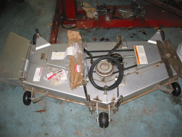 "Used 52"" Mower Deck for Honda H5518 Tractor"