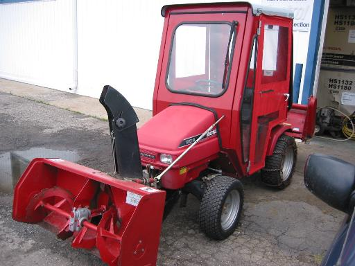 Honda H5518A4 Tractor 14 Package