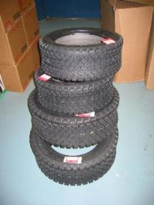 BRAND NEW Factory Original Ohtsu Turf Tires for Honda RT5000, H5013, or H5518 Tractor