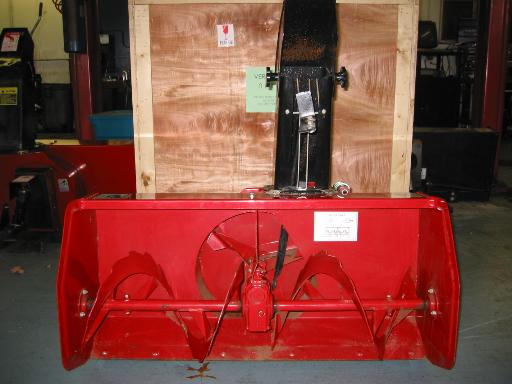 "LIKE NEW 42"" Snowblower #8 for Honda RT5000, H5013, or H5518 Tractor"