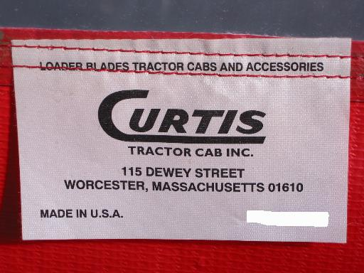 NEW Curtis Hard Cab for Honda H5518 Tractor