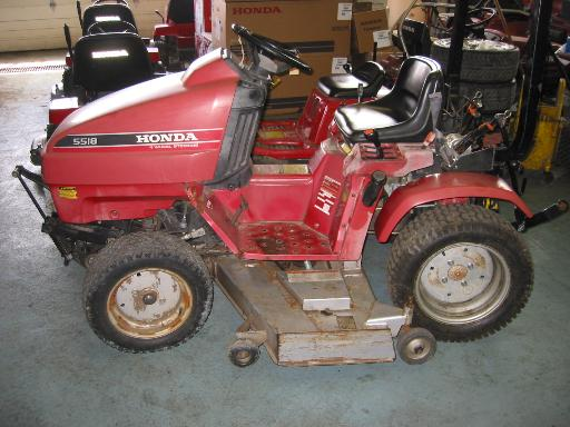 Honda H5518A2 Tractor 15 Package