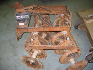 Used Disc Harrow for Honda RT5000, H5013, or H5518 Tractor