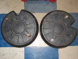 Used Wheel Weights for Honda RT5000, H5013, or H5518 Tractor