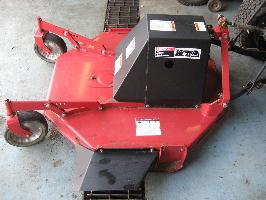 "LIKE NEW 42"" Brush Hog / Rough Cut Mower for Honda RT5000, H5013, or H5518 Tractor"