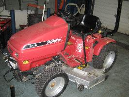 Honda H5518A4 Tractor 17 Package