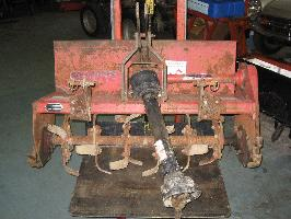"Used 40"" Rototiller for Honda RT5000, H5013, or H5518 Tractor"