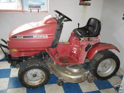 Used Honda H5518A2 Tractor 18 Package