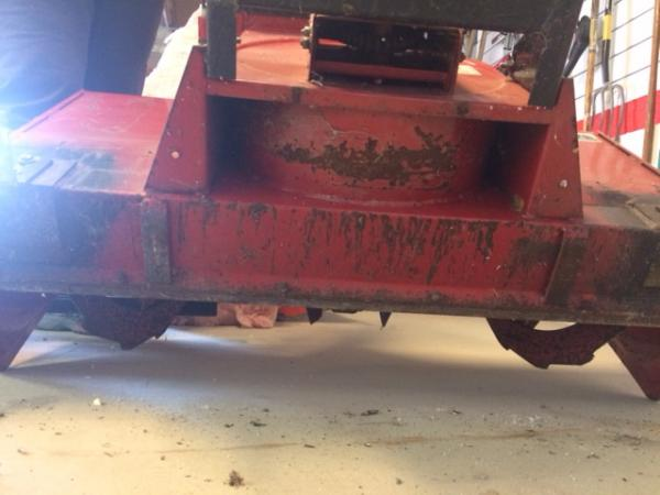 """USED 42"""" Snowblower #22 for Honda RT5000, H5013, or H5518 Tractor"""