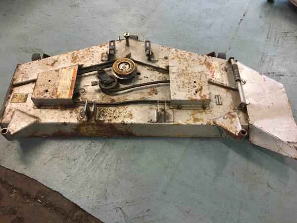 "<span class=""dojodigital_toggle_title"">Used 52″ Mower Deck #15 for H5518 Tractor</span>"