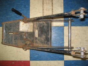 Used Front Quick Hitch #12 for Honda H5013, or H5518 Tractor