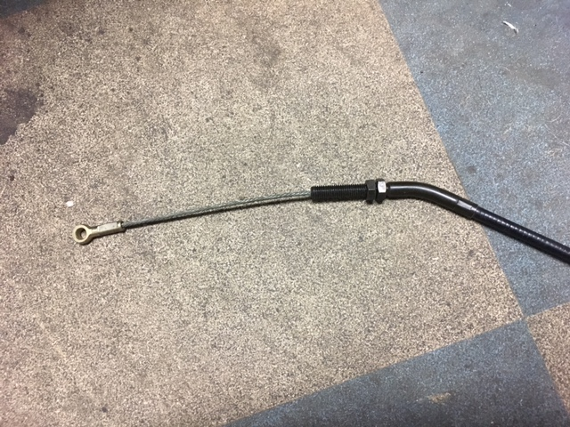 BRAND NEW (NEW OLD STOCK/NOS) RT5000/H5013 Front PTO Clutch Cable Part Number 75187-752-630